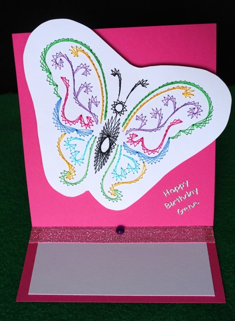 Q18 Butterfly Easel